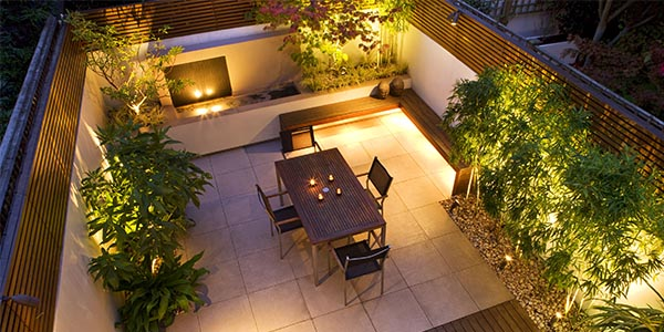 Garden Lighting design and installation